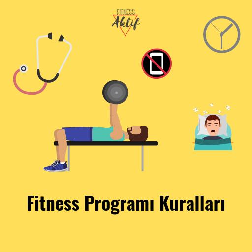 fitness program kurallari